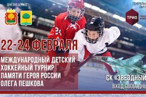 В Липецке состоится Международный детский хоккейный турнир памяти Героя России Олега Пешкова